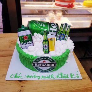 Bánh kem Heineken