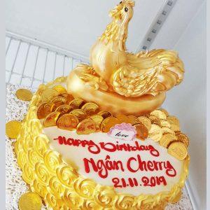bánh sinh nhật con gà