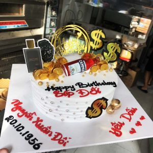 Bánh kem sinh nhật tặng chồng