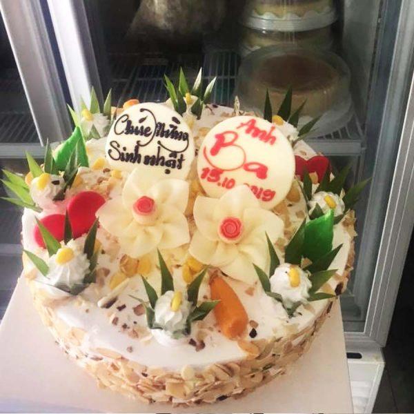 bánh sinh nhật kem bắp