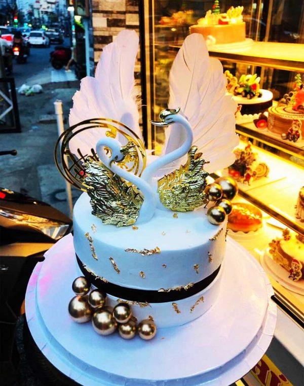 bánh kem kỉ niệm ngày cưới
