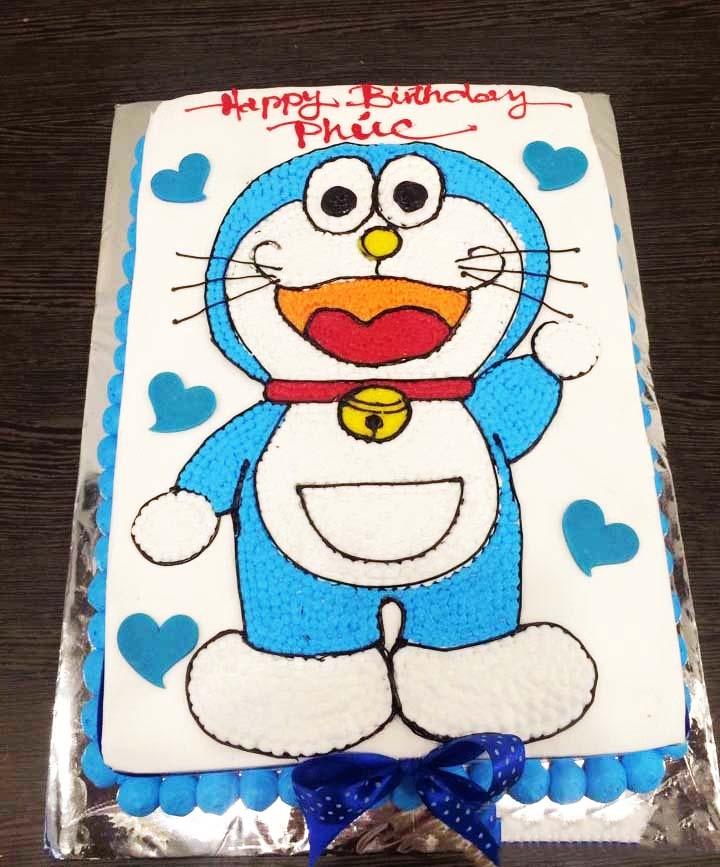 bánh sinh nhật đoremon
