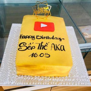 Bánh kem sinh nhật youtube