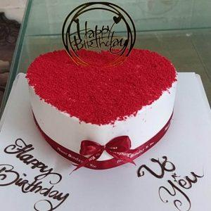 Bánh sinh nhật tăng vợ