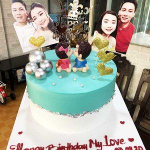 Mẫu bánh sinh nhật tặng người yêu