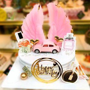 Bánh sinh nhật cánh thiên thần