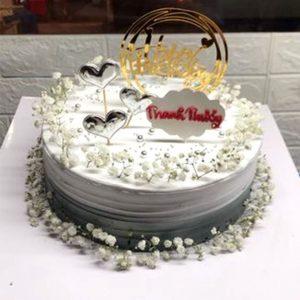 Bánh sinh nhật hoa bi