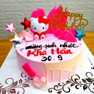 Bánh sinh nhật kitty cho bé