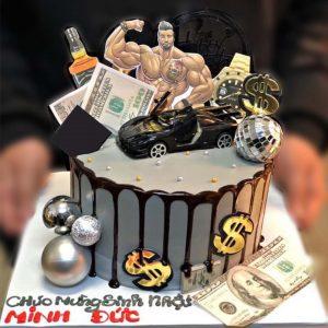 Bánh sinh nhật tặng anh