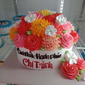 Bánh sinh nhật tặng chị