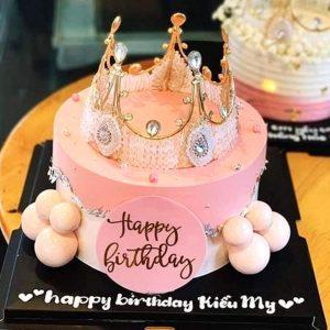 Bánh sinh nhật vương miện tặng bạn