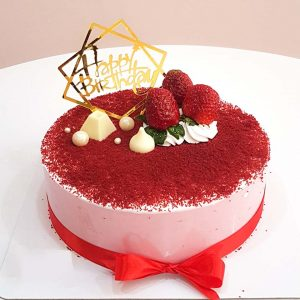 Bánh sinh nhật kem dâu