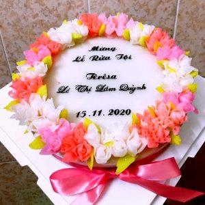 Bánh sinh nhật rau câu mừng lễ