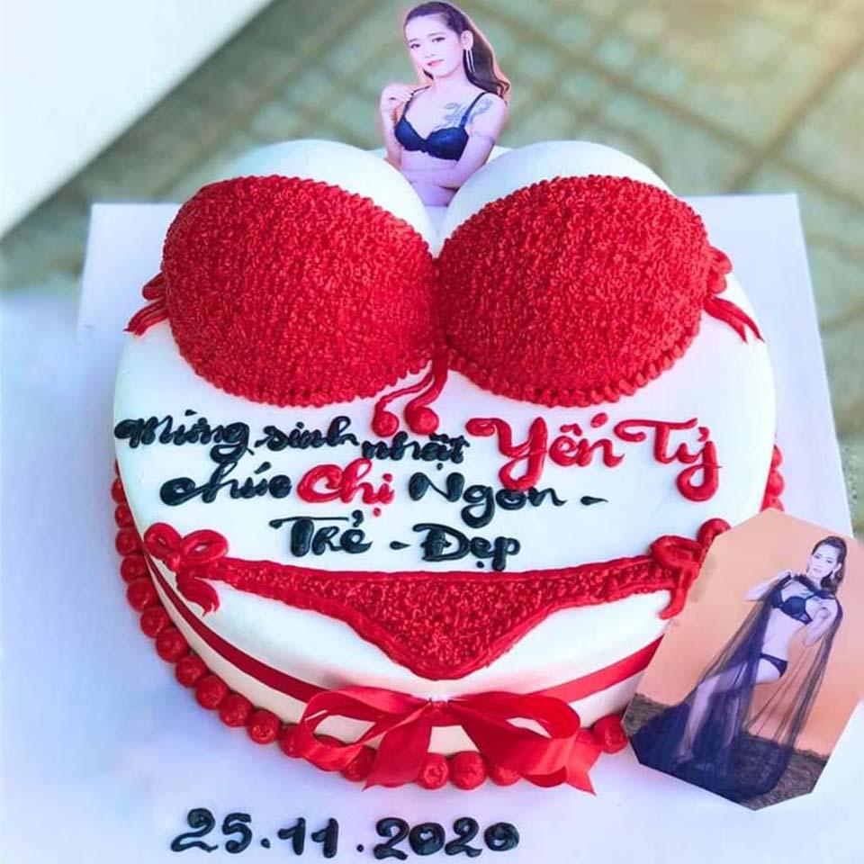 Bánh sinh nhật sexy
