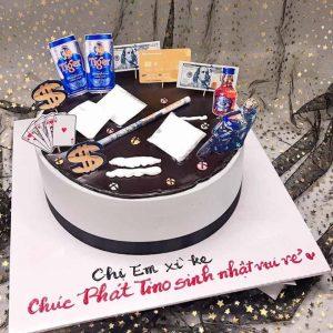 Bánh sinh nhật tặng chị em