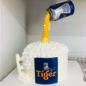 Bánh sinh nhật ly bia tiger