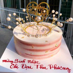 Bánh sinh nhật mừng tuổi chi gái