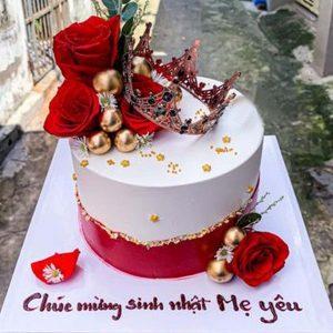 Bánh sinh nhật mừng tuổi mẹ