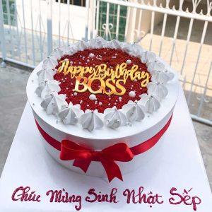 Bánh sinh nhật tặng sếp
