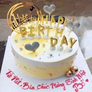 Bánh sinh nhật tặng bố