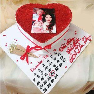 Bánh sinh nhật tặng người thương