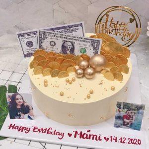 Bánh sinh nhật tặng má mi