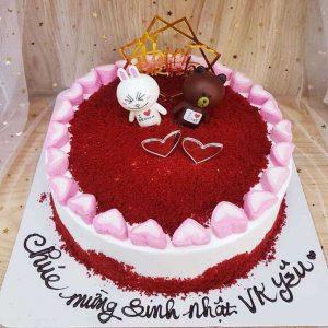 Bánh sinh nhật tặng vợ yêu