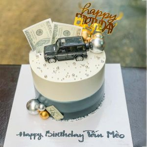 Bánh sinh nhật xe hơi