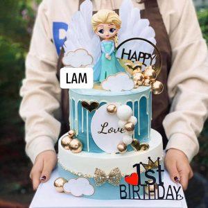 Bánh sinh nhật vương miệng