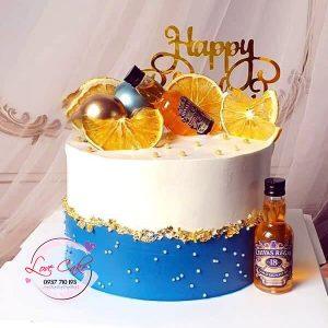Bánh sinh nhật chai rượu
