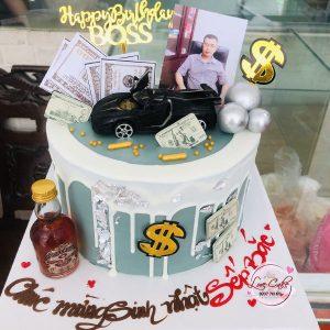 Bánh sinh nhật hiên đại