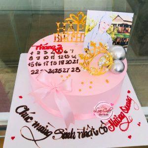 Bánh sinh nhật ngày tháng