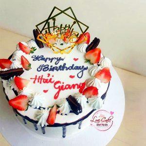 Bánh sinh nhật quả dâu