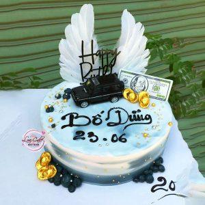Bánh sinh nhật siêu xe tặng bố