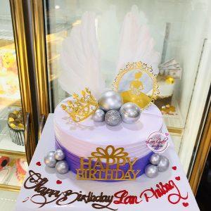 Bánh sinh nhật vương miện công chúa