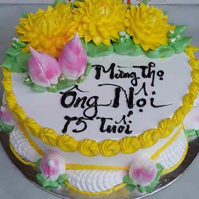 Bánh sinh nhật mừng thọ