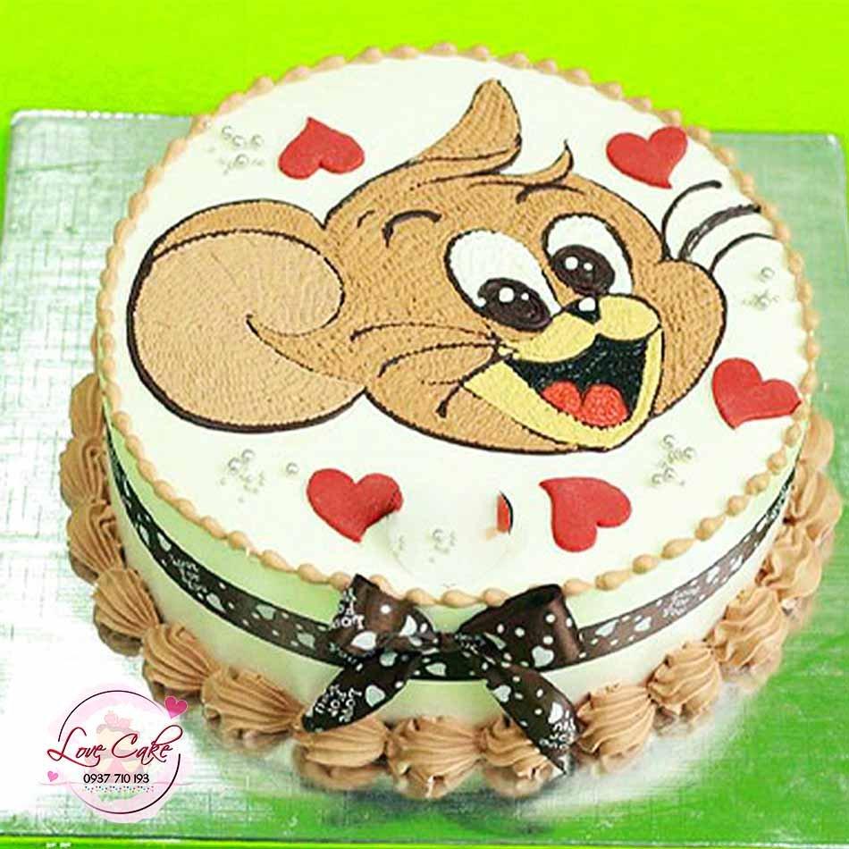 Bánh kem thôi nôi tuổi chuột