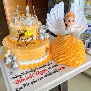 Bánh sinh nhật tặng bé