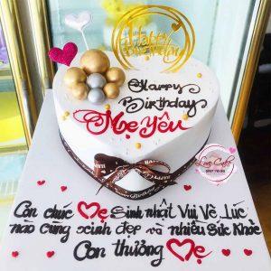 Bánh sinh nhật đẹp tặng mẹ yêu quý