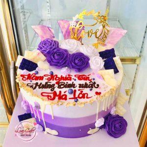 Bánh sinh nhật ngày của mẹ