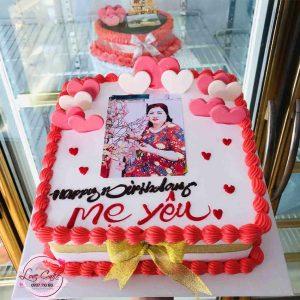 Bánh sinh nhật tăng mẹ yêu thương