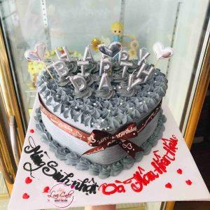 Bánh sinh nhật tặng mun