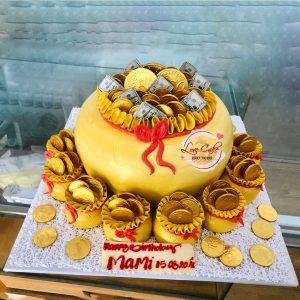 Bánh sinh nhật tăng mum thương