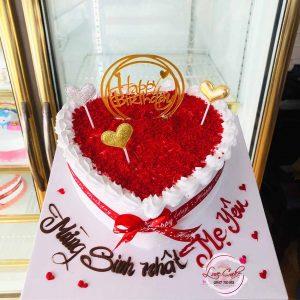 Bánh sinh nhật tăng mun thương