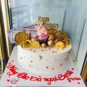 Bánh sinh nhật tặng ông bà