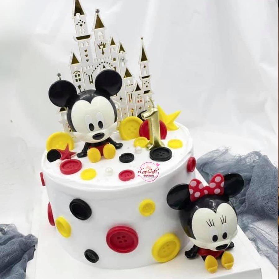 Bánh sinh nhật chuột mickey