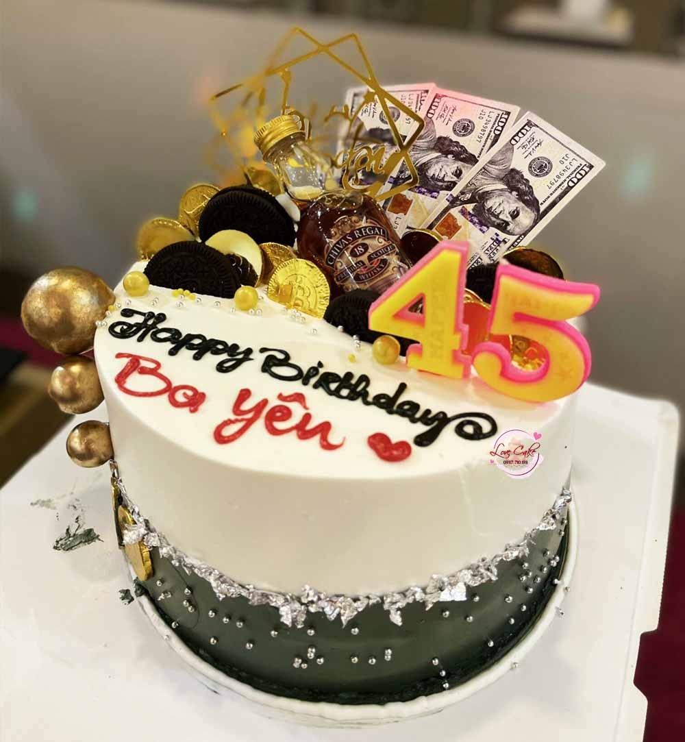 Bánh sinh nhật tặng ba