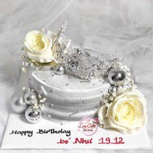 Bánh sinh nhật tặng bé gái