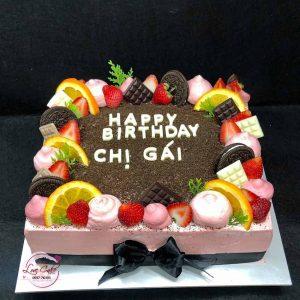 Bánh sinh nhật tặng chị gái
